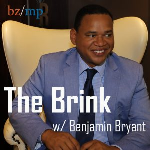 Logo for The Brink with Benjamin Bryant